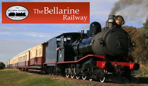 Heritage Steam Train | Bellarine Railway